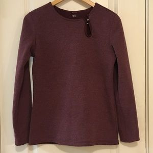 ⭐️ Lucy Activewear Fleece Purple Pullover Sweater